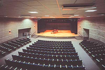 Use our auditorium for meetings at PVCC