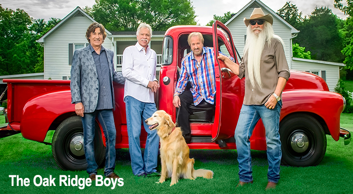 oak ridge boys perfomed at sold out PVCC gig