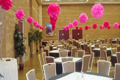 Great Hall prepped for weddings