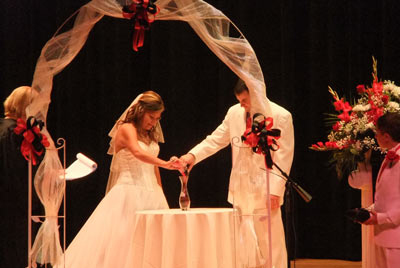 Bride and Groom-weddings at PVCC