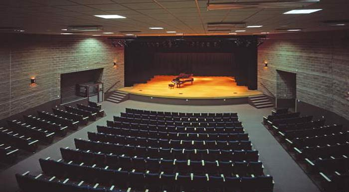 fine arts theater at PVCC