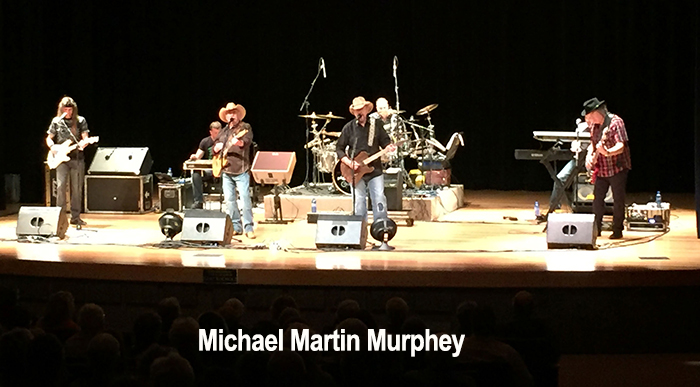 Michael Martin Murphey at PVCC gig