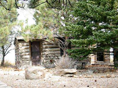 Old Saratoga cabin