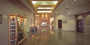 west lobby PVCC