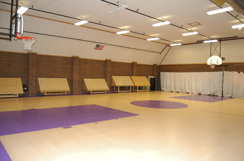 PVCC recreation facilities-gym