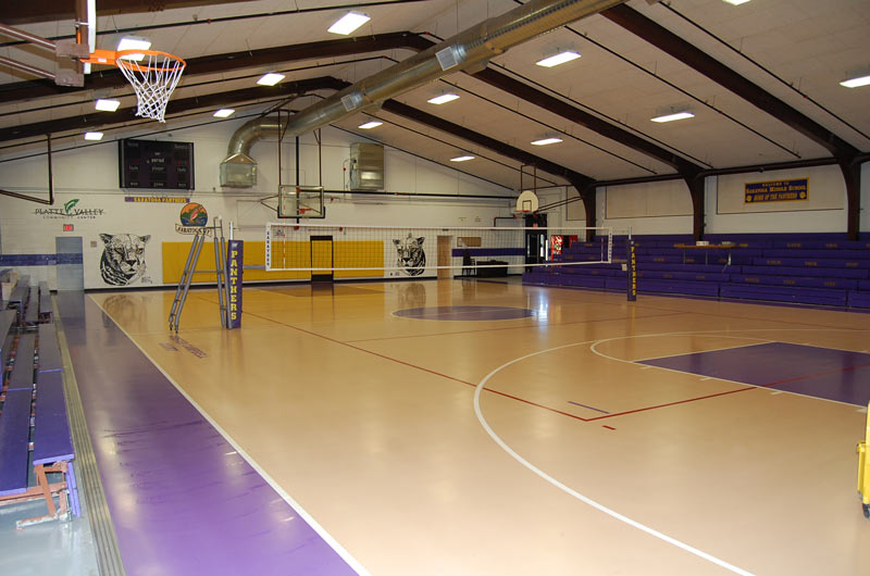 PVCC recreation-basketball court