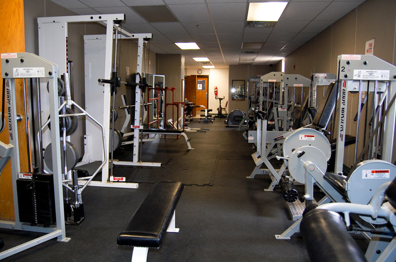 PVCC recreation facilities-weight room