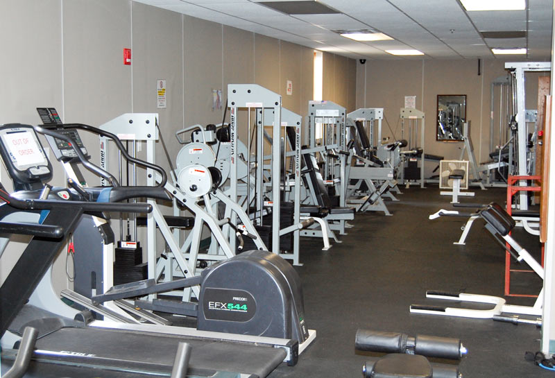 PVV recreation facilities-weight room