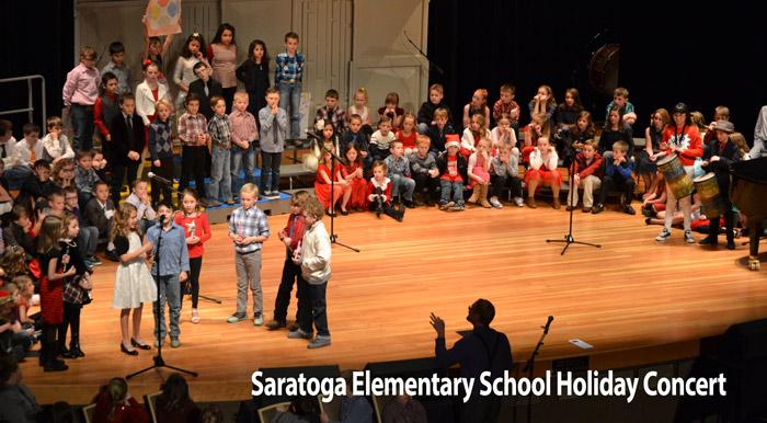 saratoga elementary school kids concert