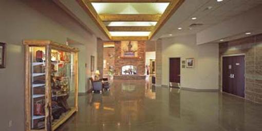 west lobby